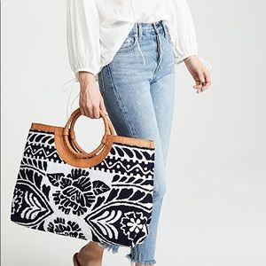 Cleobella Anthropologie Brooklyn Leather Tote
